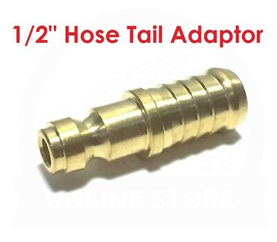 """QUALITY 1/2"""" Hose Tail Brass Adaptor 19.0879 Jamec Pem Airline Fitting Coupling"""