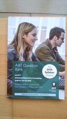 AAT Indirect Tax AQ2016 FA2016: Question Bank by BPP Learning Media