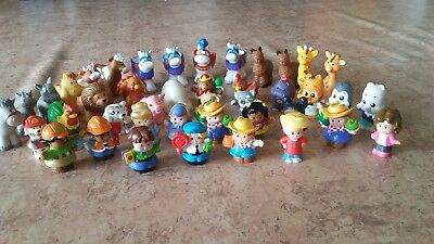 42 Fisher Price Little People & Animals Bulk Lot