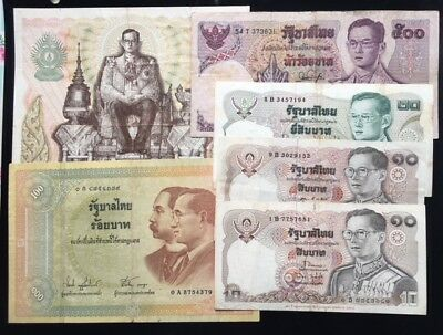 Siam Banknote Differrent 6Pieces