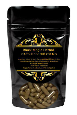 Bloodroot Capsules (Sanguinaria canadensis) - Double Strength Supplement 100Caps