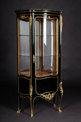 French salon-vitrine in the Style of the Louis XV Rococo