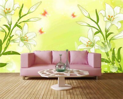 Green Later Stuff 3D Full Wall Mural Photo Wallpaper Printing Home Kids Decor