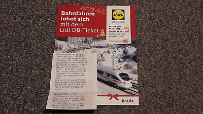 2 db deutsche bahn ice fahrkarte bahnticket ticket gutschein lidl ticket sofort eur 69 00. Black Bedroom Furniture Sets. Home Design Ideas