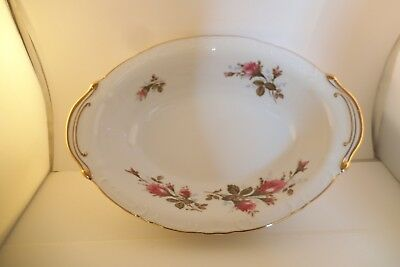 Vintage Royal Rose Fine China of Japan Oval Vegetable Bowl