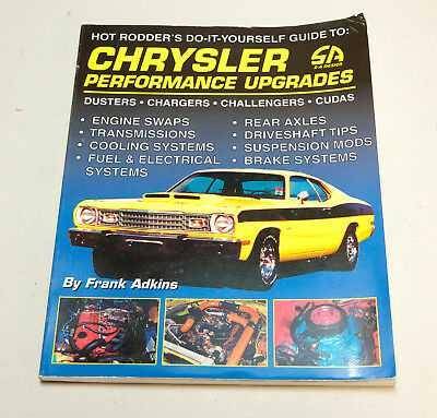 Chrysler Performance Upgrades - SA Design - Dusters, Chargers, Challengers, Cuda