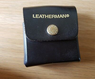 Leatherman Tool Adapter In Thick Leather Pouch