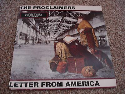 """Proclaimers   Letter From America  10"""" Double Groove Single"""
