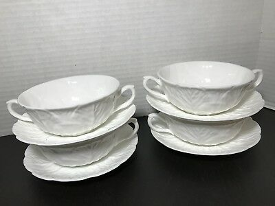 ONE Set COALPORT Country Ware Cream Soup Bowl & Saucer - Tiffany & Co (4 avail)