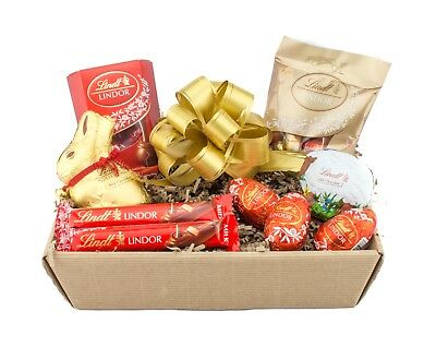 Lindt chocolate easter gift hamper lindor selection box sweets lindt chocolate easter gift hamper lindor selection box sweets present eggs negle Image collections
