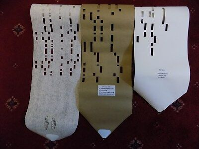 Clariona Organette rolls x 3  [un-spooled] Will play on ebay  152764869836