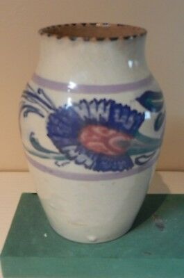Collard era De Morgan pattern vase