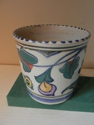 Collard era Plant Pot shape no 54 Jacobean pattern