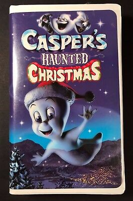 Casper's Haunted Christmas (VHS, 2000) Movie Tape - Kids Family Holiday Comedy