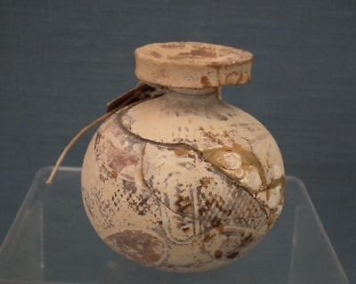 An Ancient Greek Corinthian Perfume Flask Aryballos 600 BC