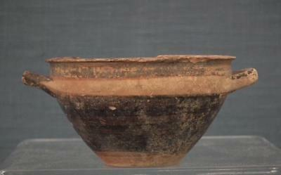 Ancient Greek Lonian 6th - 5th Century B.C. Pottery Wine Cup Skyphos - Kotyle