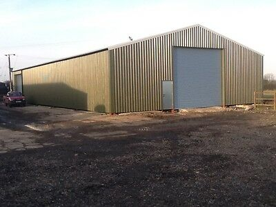 Allen fabrications,steel buildings agricultural/industrial portal frames 60x80ft