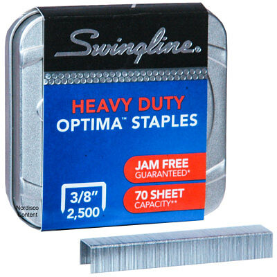Swingline 35550 Staples, Optima High Capacity, Box of 2500