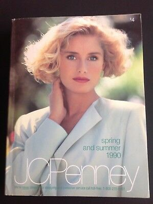 Vintage 1990 JC PENNEY Spring-Summer Catalog Original VGC Home Goods Electronics