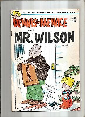 Dennis The Menace And His Friends #12  Mr. Wilson  Fawcett  1971  Nice!!!
