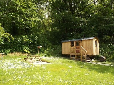 2 night short break for one,shepherds hut with garden ,W Wales,shower & w c  £70
