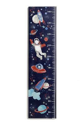 STARSHIP Spaceship Space HEIGHT Chart Canvas Picture Home Decor Boys Bedroom