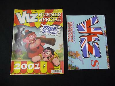 Viz Summer Special 2001 comic with free Scottish Highlands map (LOT#1822)