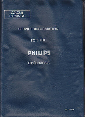 Service Information for the Philips G11 Chassis