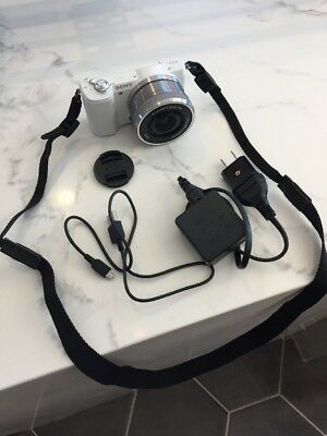 Sony Alpha a5100 Mirrorless with 16-50mm OSS Lens, White