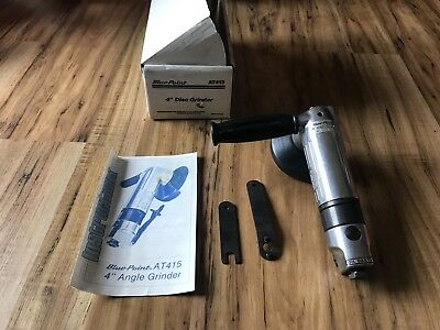 """BRAND NEW Blue Point Tools 4"""" Air Pneumatic Disk Grinder AT415 sold by Snap On"""