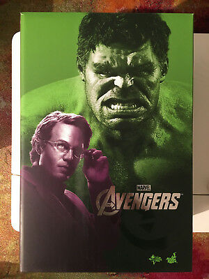 HOT TOYS MMS230 BRUCE BANNER AND HULK 1:6 Figures - Avengers / PREMIUM EDITION