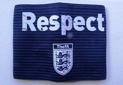 New Sealed Official Fa Respect Football Captains Armband