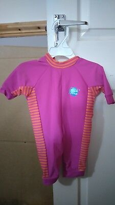 Splash About Girls Pink Swimsuit Wetsuit NEW 0-3 months