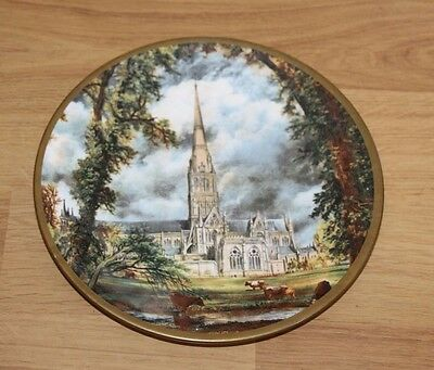 China Collectors Plate - Salisbury Cathedral John Constable - Barratts of Staffs