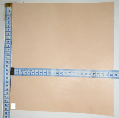 4Mm - 4.5Mm Thick Natural Veg Tan Craft Leather Hide