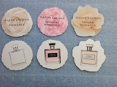 Lot De 3 Cartes A Parfumer Ralph Lauren