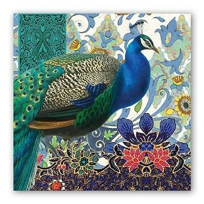 Peacock Luncheon Napkins by Michel Design Works