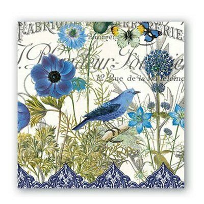 Blue Napkins by Michel Design Works -  Luncheon
