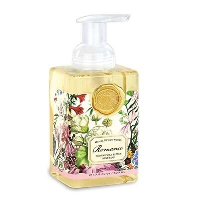 Michel Design Works Romance Foaming Hand Soap Wash + Aloe Vera + Shea Butter