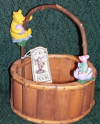Midwest Of Cannon Falls - Pooh And Piglet Easter Basket