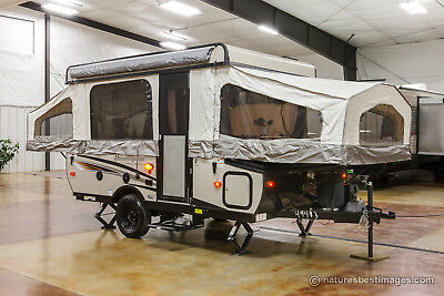 New 2018 T10ST Lite Fold Down Pop Up Camping Trailer Never Used Lowest Price