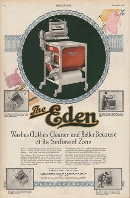 1920 Gillespie Eden Clothes Washer Clothing Appliance 8978