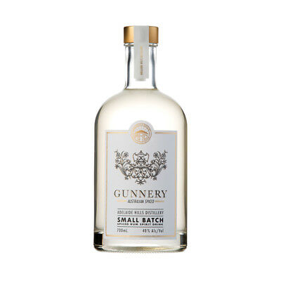 Adelaide Hills Distillery Gunnery Spiced White Rum 700ml
