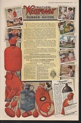 1917 Wearever Rubber Goods Child Baby Infant Nursery Ad14678