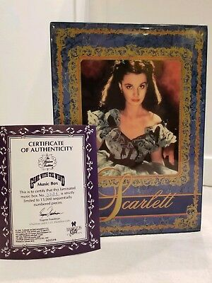Gone With The Wind Scarlett Music Box