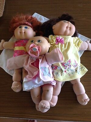 Cabbage Patch dolls (three Dolls)
