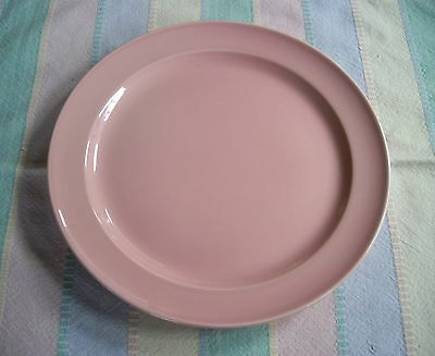 """Vintage TS&T Lu-Ray Pastels PINK 9"""" Plate  ~"""