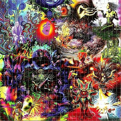 Mysterious Creations  Blotter Art Psychedelic Lsd Acid Free Paper 900 Squares