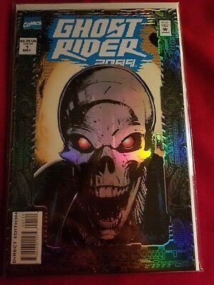 Ghost Rider 2099 #1 (May 1994, Marvel) Foil Cover