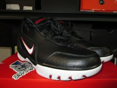 the latest 9ad19 2a3dc Nike Air Zoom Generation Qs Black Red Aj4204 001 New Lebron James Cavs